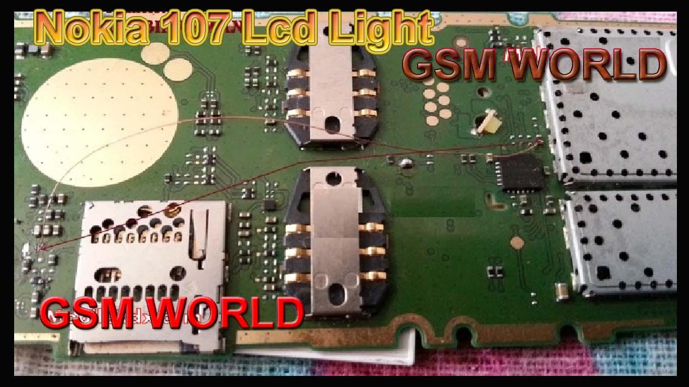 Nokia 107 Lcd Light Problem Jumper Solution  – Growth India